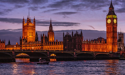 Parliment and Big Ben, London, UK