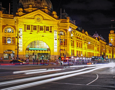 Train Station, Melbourne, Australia