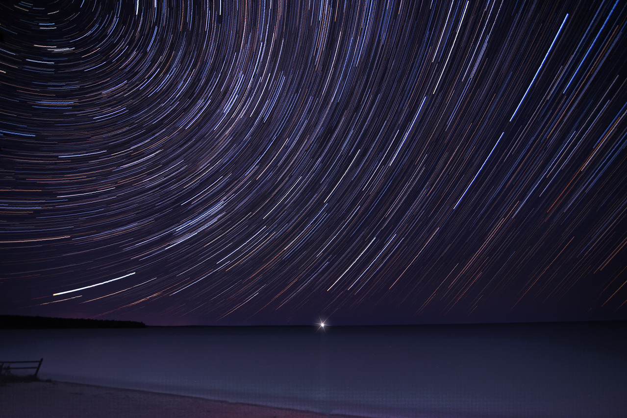Europe Bay Star Trail