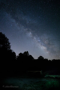 Milky Way at Powhatan Wildlife Management Area