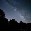 Milky Way at Powhatan Wildlife Management Area