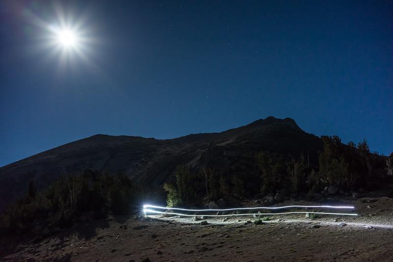 Full Moon Ride over Freel