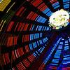 lights of the Ferris wheel