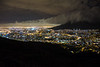 Cape Town City Lights, from Signal Hill, City Bowl to North East