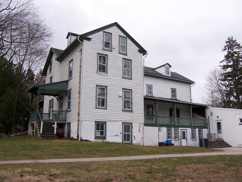 "View of the rear of the house, as seen on the website   <a href=""http://www.schuylkilltwp.com/Recollections/MeadowBrook.html"">http://www.schuylkilltwp.com/Recollections/MeadowBrook.html</a>"