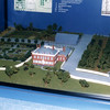 Model of the mansion as it looked in Schuyler's day. The city has encroached since!