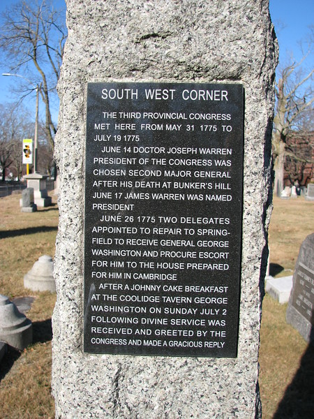 Southwest corner