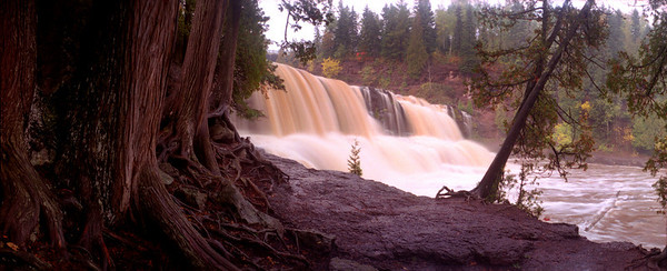 Gooseberry Falls After the Flood.