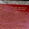 Plaque found along Prince William Street