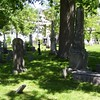"Photo of the plot, as seen on the webpage:  <a href=""http://canadianheadstones.com/nb/view.php?id=7963"">http://canadianheadstones.com/nb/view.php?id=7963</a>        Phair's stone is just to the left of center in the mid-ground<br /> <br /> It gives the engraving on the stone as: <br /> ""Andrew Phair Esqr died the day of 9th november 1824 aged 67 years<br />  also Margaret his wife who died on the 27th of July 1833 in the 78th year of her age"""