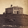 "As seen on the website:  <a href=""http://stcroixhistorical.com/?p=806"">http://stcroixhistorical.com/?p=806</a><br /> Photograph c.1885 of Benedict Arnold's home on Campobello Island, New Brunswick. Arnold briefly lived on the island following the American Revolution."