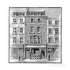 This print of the long gone birthplace of Lord Byron on Holles St (he was born in 1788 at 24 Holles St) is dated 1888. It may show what the neighborhood looked like at the time the Arnolds lived there. But it probably shows the site occupied by buildings constructed in the 1800s which replaced the earlier 1700s development.