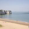 Margate Sands. Note the chalk cliffs.