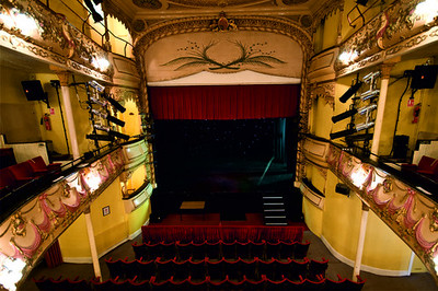 Interior view of Theatre Royal