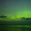 Northern Lights at Agate Beach, Copper Harbor, Michigan