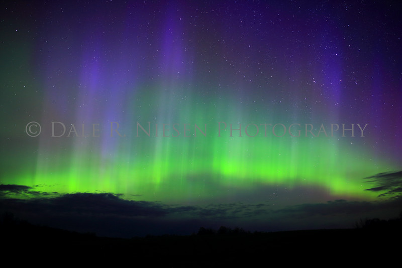 Taken on May 8, 2016 at 4:00 am looking north from Eden Hill in Beulah, Michigan toward Empire and the Sleeping Bear Dunes National Lakeshore.