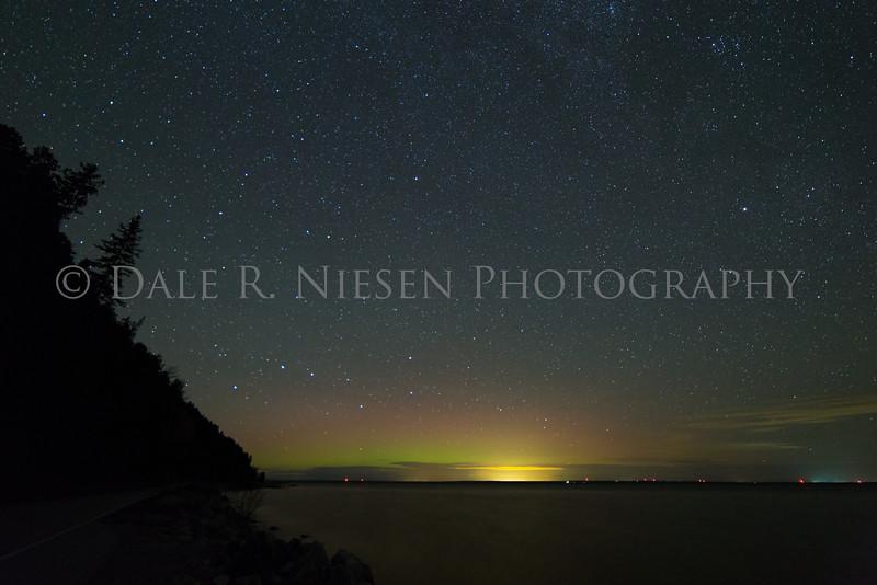 Mackinac Island aurora #1