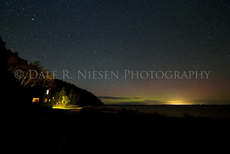 Mackinac Island aurora #3
