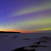 Sunset, Aurora and the Pan-Starrs Comet taken on Lake Superior's frozen Whitefish Bay, Chippewa County, Michigan 3/29/2013. I had to travel north 380 miles to get this shot but it was worth the trip. (Note: The Pan-STARRS Comet is seen at the left of the image just above the afterglow of the sunset.)