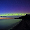 Sleeping Bear Aurora - Taken on May 8, 2016 at 10:11 pm looking north toward the Empire Bluffs in the Sleeping Bear Dunes National Lakeshore .
