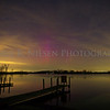 Aurora over Portage Lake, Jackson County, Michigan taken on the night of April 20, 2014 (Easter).