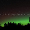 Aurora Borealis / Northern Lights captured near Grayling, Michigan on November 13, 2012