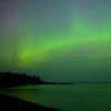 Northern Lights over Agate Beach, Copper Harbor, Michigan