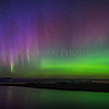 Northern Lights at the mouth of the Au Train, River on the night of October 13, 2017 starting at ca. 8:45 pm.  This display danced across the night sky for about 20 minutes.