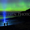Sleeping Bear Aurora - Taken on May 8, 2016 at 2:35 am looking north toward the Empire Bluffs in the Sleeping Bear Dunes National Lakeshore with photographers Steve Lambert and Dale Niesen.