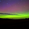 The Aurora Borealis on Tuesday 9/8/2015 taken from Lincoln Road near Beulah, Michigan