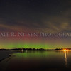 Aurora over Portage Lake, Jackson County, Michigan taken on the night of December 7/8, 2013.