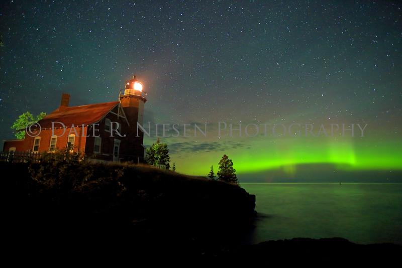 Eagle Harbor Lighthouse, Eagle Harbor, Michigan taken August 31, 2014 at 2:44 AM.