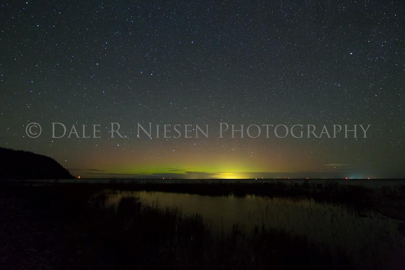 Mackinac Island aurora #2