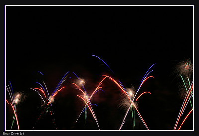 Participated in the   Fireworks Exhibition, Tel Aviv, 2010