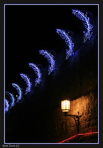 Magic Alley Jerusalem Light Festival