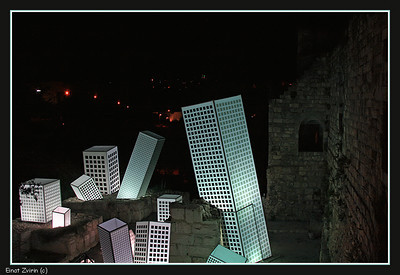 Ruins of the Future Jerusalem Light Festival