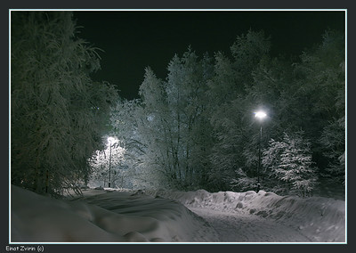 Frosty night Kiruna 2011