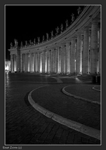 Graphics St. Peter's Piazza, The Vatican