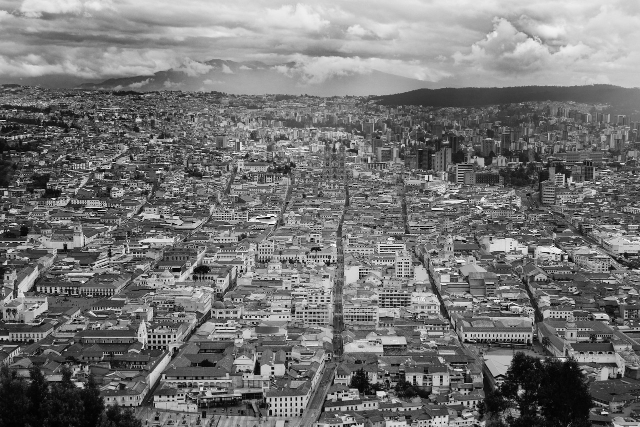 View from Virgin of Quito