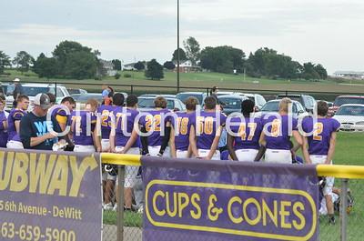 Ag Bowl: Northeast at DeWitt football (8-25-16)