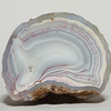 "Agate, Paso Berwyn, Patagonia, Argentina             <br /> 1/4"" x 1 1/2"" x 1 1/4"" 0.21 lb<br /> Rich yet subtle, the refined colors of the agates of Patagonia share the beauty of flowers. Now rare due to the volcanic ash from Chile that has buried the collecting areas. Flawless.<br /> All agates in the sample galleries have been SOLD."