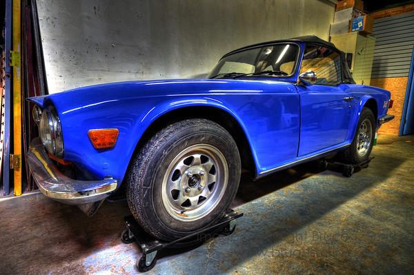 Classic Triumph TR6