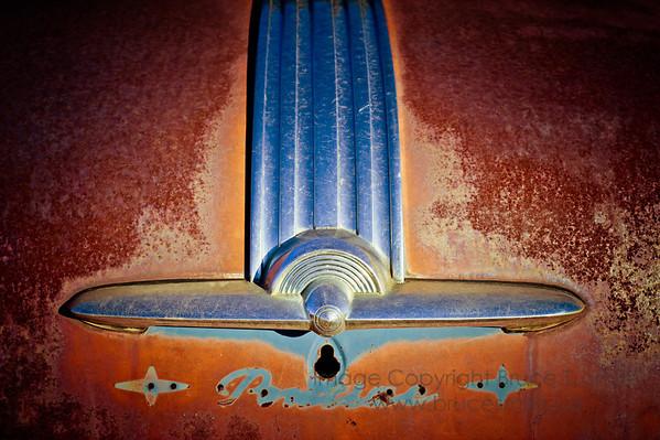 Rusty Pontiac Hood Emblem
