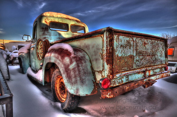 An old International Truck.