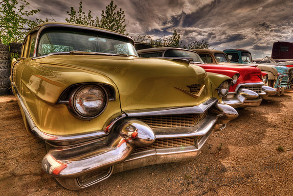 Old Cadillacs in HDR