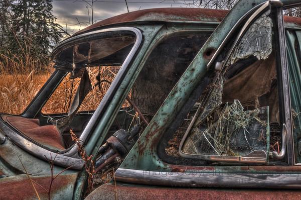 Old Ford Customline Sedan