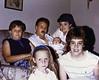 The newborn with Vuotto cousins