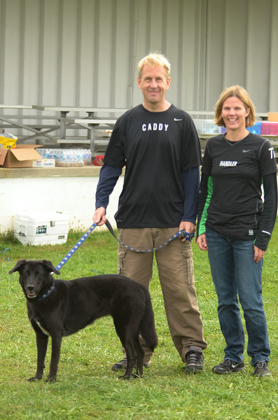 The Dog, The Caddy and The Handler, all present!