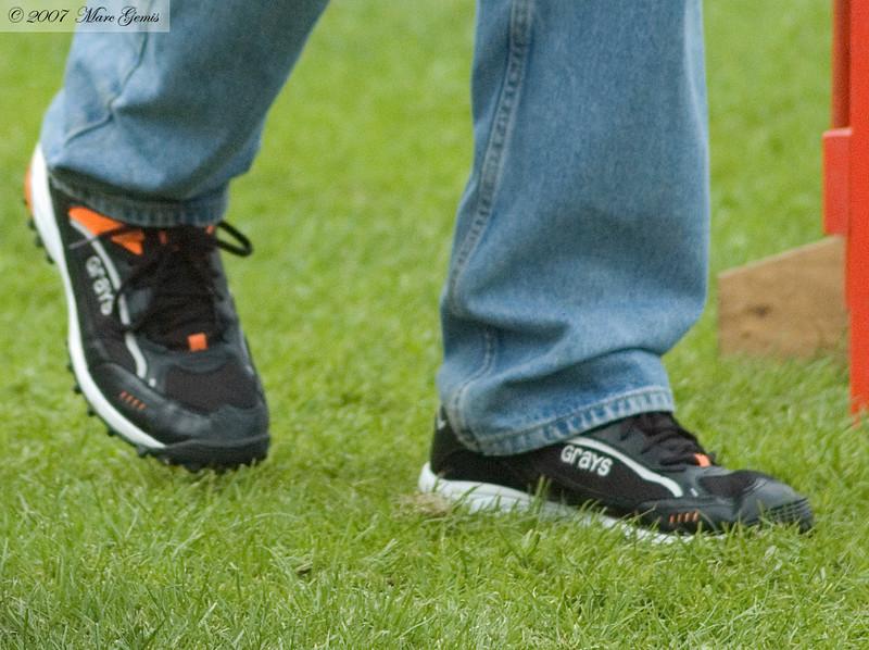 De nieuwe schoenen van Herman