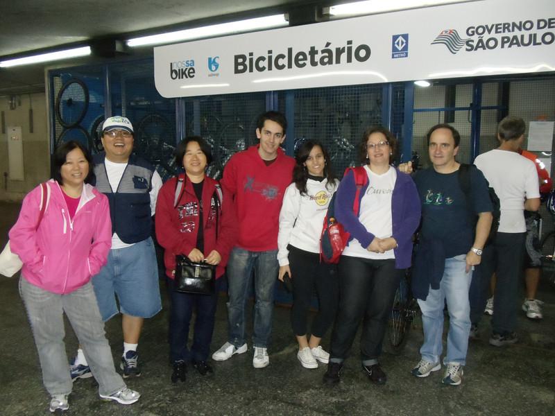 Marcia, Mauro, Soon, Marcelo, Giovana, Renata e Edson...